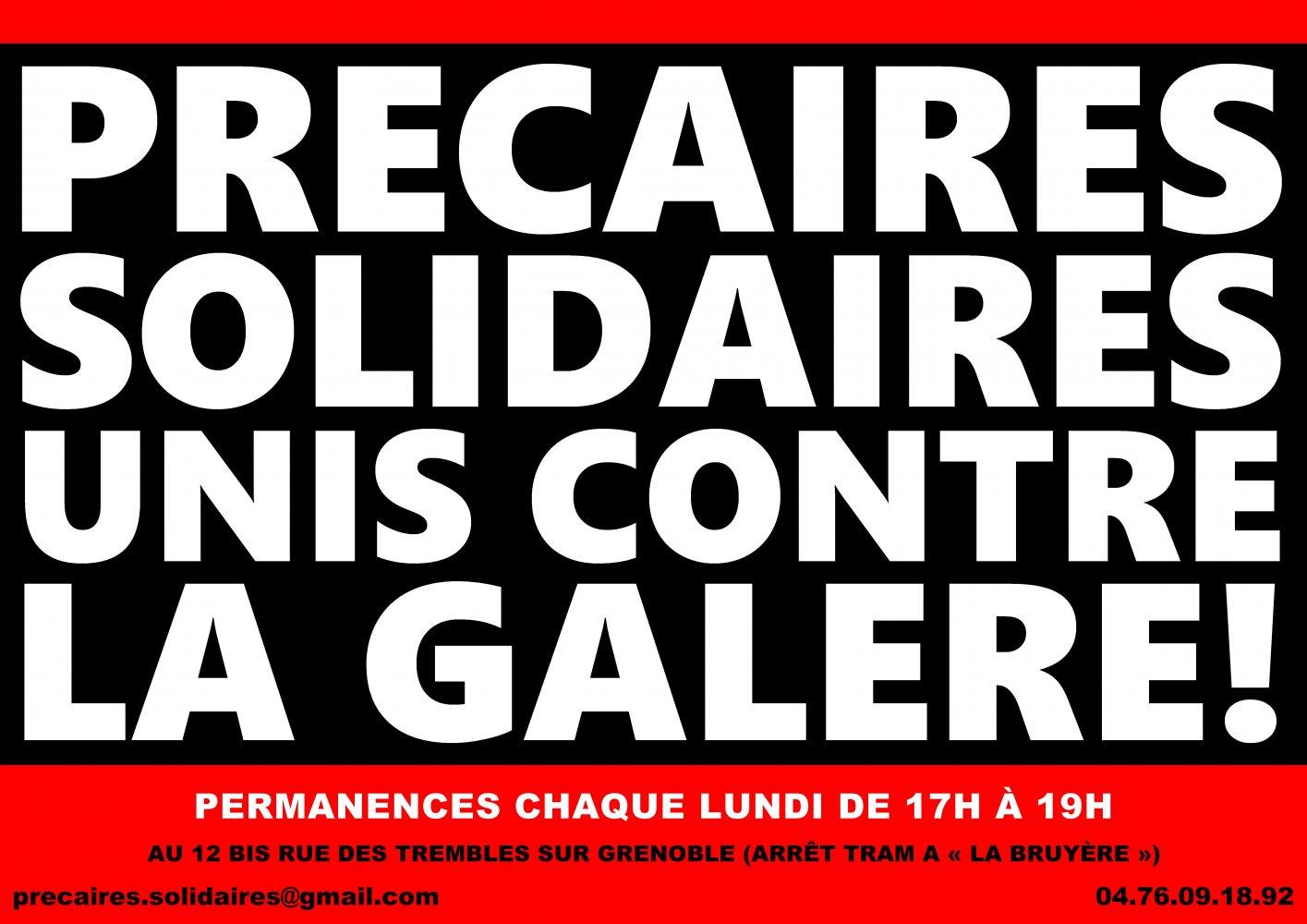 4191a2d465f Solidaires précaires et chômeur-euses