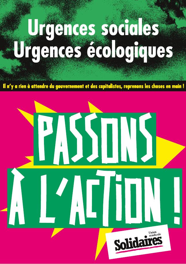 Urgences écologiques Urgences sociales