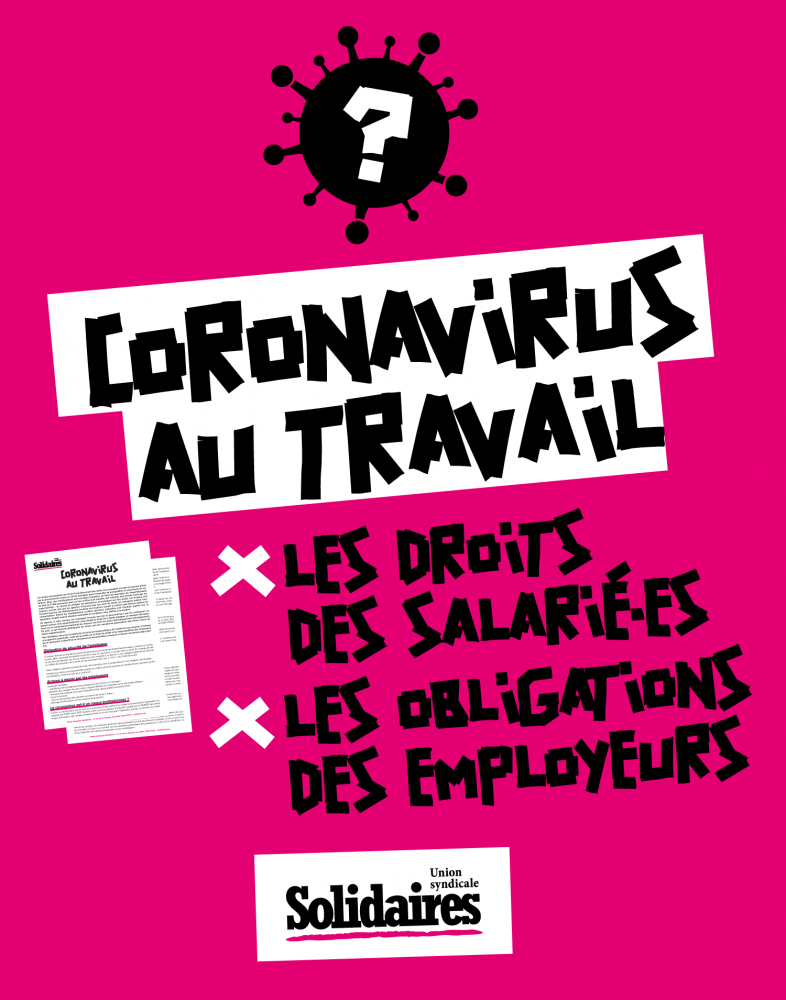 droits du travail pendant le corona